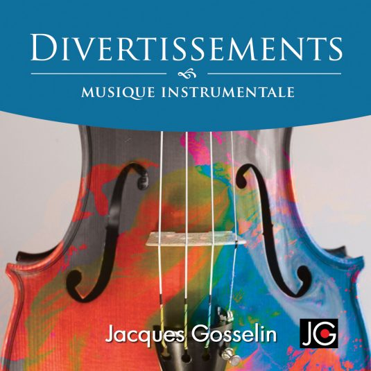 Image de l'album Divertissements de Jacques Gosselin