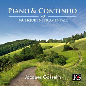 Image de l'album Piano et Continuo de Jacques Gosselin