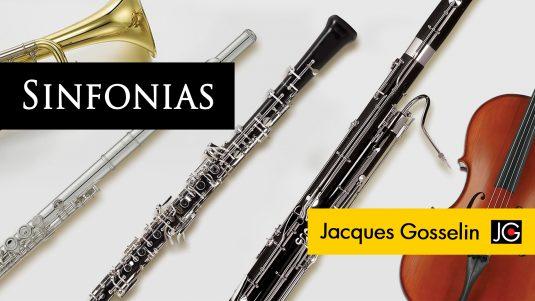 Album Sinfonias de Jacques Gosselin