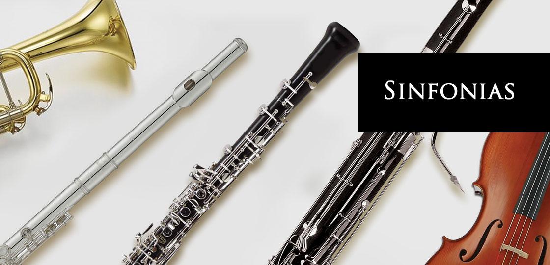 Albums musique classique - Nouveautés - Album Sinfonias