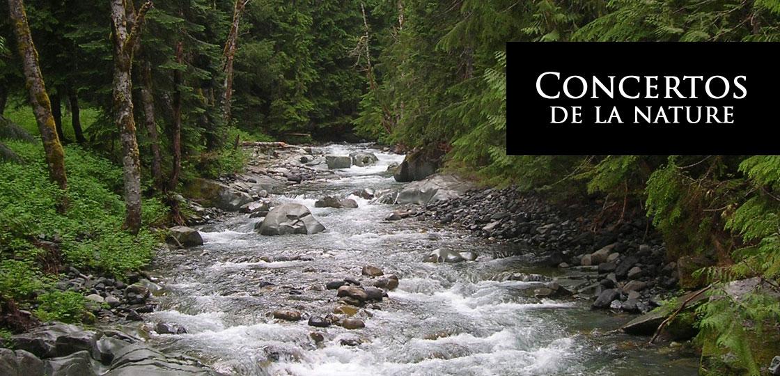Album musique classique - Concertos de la nature - Jacques Gosselin